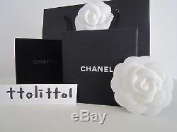 Auth Bnib Ss 2016 Chanel Gold CC Pearl & Crystal / Multi Brooch + 2016 Receipt
