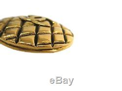 Auth CHANEL COCO Brooch Metal Gold (BF303471)
