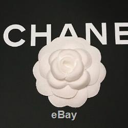 Authentic CHANEL Large Ivory Fabric Camellia Flower to Making Brooch /Pin