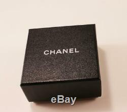 Authentic Chanel CC Logo Colorful Enamel Base Metal Pin Pendant Brooch