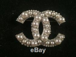 Authentic Chanel Classic CC Brooch