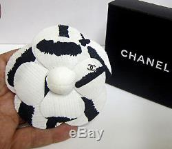 Authentic Chanel VIP Gift Camellia Flower Brooch/ Pin