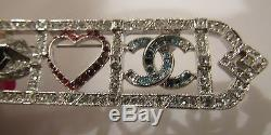 Authentic RARE Chanel Pin Brooch I Love Chanel Collection NEW IN BOX -SOLD OUT