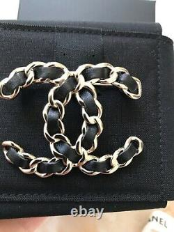 Brand New Authentic Classic Chanel Brooch Full Set