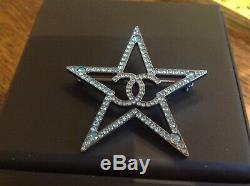 Chanel Authentic Star Brooch