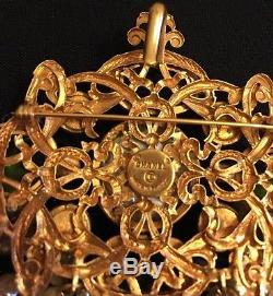 Chanel Authentic Vintage Gripoix Brooch