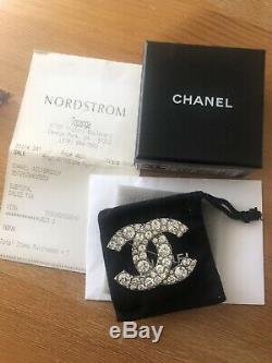 Chanel Classic Brooch with Box and Receipt