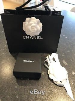 Chanel Crystal Brooch New Receipt, Box, Pouch Bag Ribbon Perfect Christmas Gift