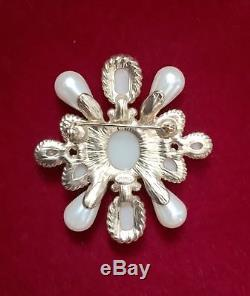 Chanel Rare Pearl Byzantine Brooch / Pin