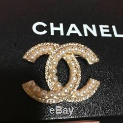 Chanel brooch F/S 100% Authentic Japan CHANEL
