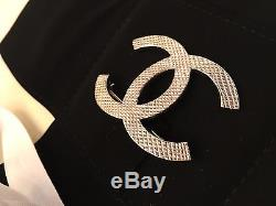 New In Box Chanel 2016 Gold Tone XL Iconic CC Logo Brooch Pin Classic Runway
