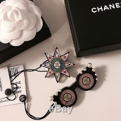 NWT 17C Cuba Collection Chanel Star Brooch Pin