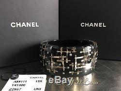 NWT 2015 XL CHANEL CC Crystal Couture Classic Timeless Brooch Pin Strass Jewel