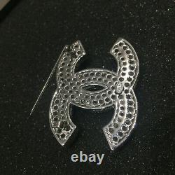 NWT chanel crystal couture CC brooch 2019 XL Classic Pin
