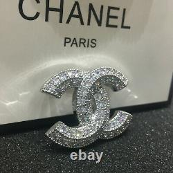 NWT chanel crystal couture CC brooch 2020 XL Classic Pin