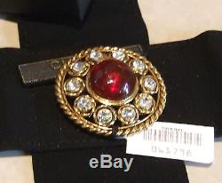 Phenomenal BNIB Genuine Vintage Authentic Chanel Signed Tagged Brooch Broach Pin